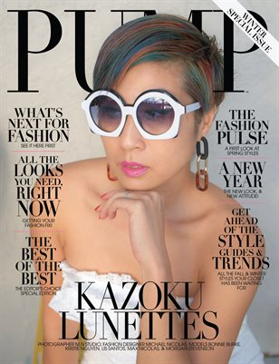 PUMP Magazine Fashion and Beauty Revamp Issue Vol.4