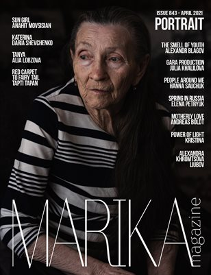 MARIKA MAGAZINE PORTRAIT (ISSUE 843 - APRIL)
