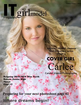 It Girl Model magazine Volume 5 Issue 1 2018