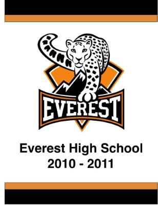 Everest Public High School Yearbook 2010-2011