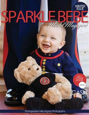 Sparkle Bebe Model Magazine Winter Issue #1 2011