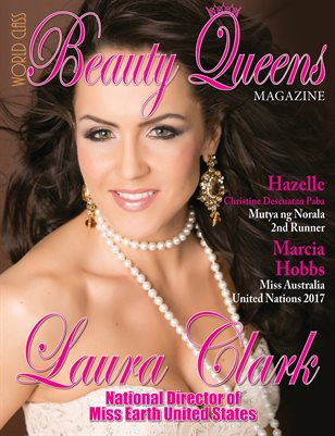 World Class Beauty Queens Magazine with Laura Clark