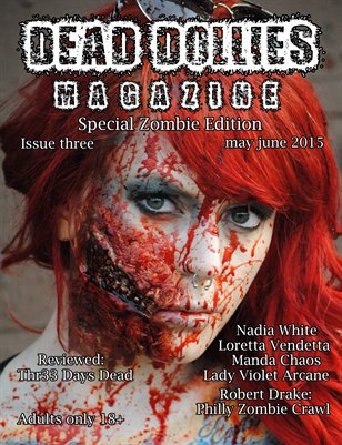 Dead Dollies Magazine Issue 3 Zombie Edition