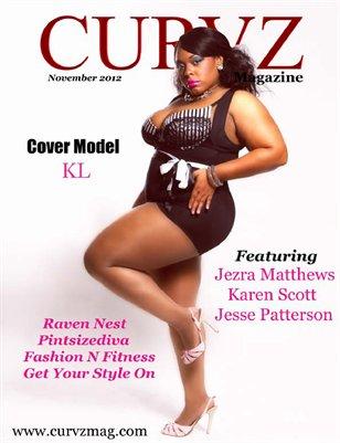 Curvz Magazine November 2012 Issue