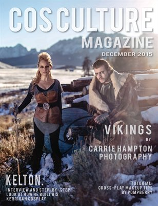 Cos Culture Magazine - December 2015 [Alternate Cover]
