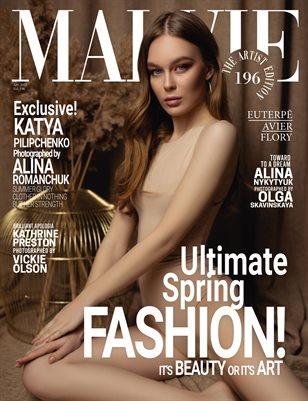 MALVIE Magazine The Artist Edition Vol 196 April 2021
