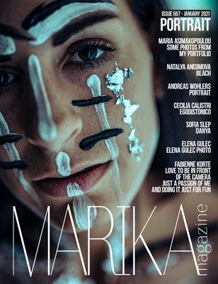 MARIKA MAGAZINE PORTRAIT (ISSUE 567 - January)