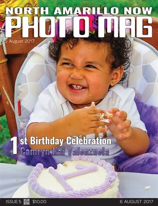 NAN Photo Mag Issue 5 - Camryn's 1st Birthday