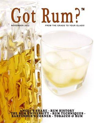 Got Rum? November 2012