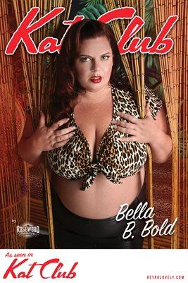 Kat Club No.17 – Bella B. Bold Cover Poster
