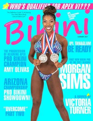 Natural Bikini Magazine Issue #37 - Summer 2021 - Cover: Morgan Sims