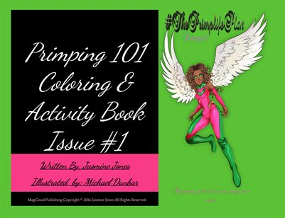 Primping 101 Coloring & Activity Book