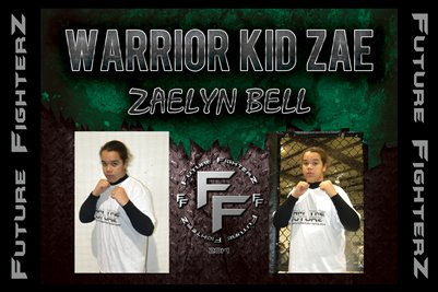 Zaelyn WARRIOR KID ZAE Bell Poster