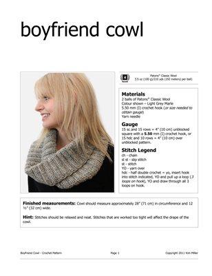 Boyfriend Cowl
