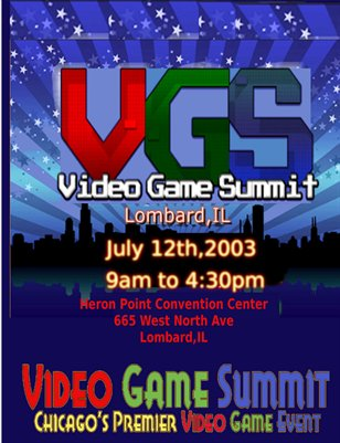 2003 Video Game Summit Program