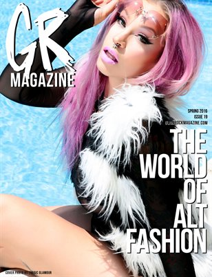 Spring 2016 Issue 19 featuring RoxyLeeHeart