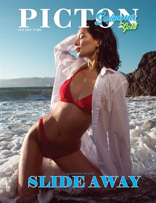 Picton Magazine OCTOBER  2019 N289 SWIMWEAR GOLD Cover 2