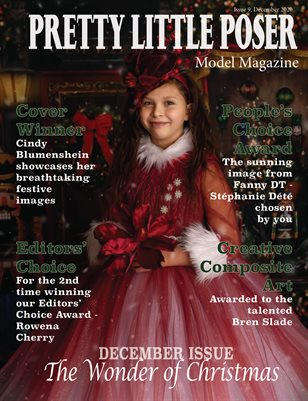 Pretty Little Poser Model Magazine - The Wonder of Christmas - Issue 9
