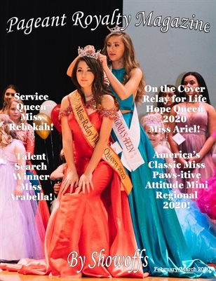 Pageant Royalty Magazine by Showoffs February/March 2020