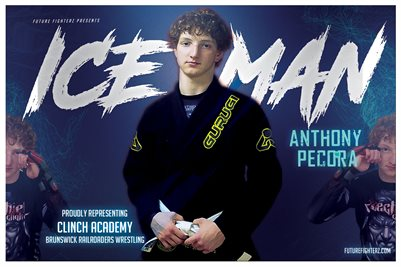 Anthony Pecora Ice White Poster