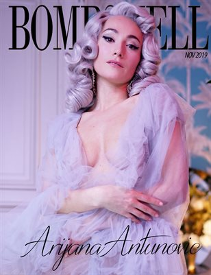 BOMBSHELL Magazine November 2019 BOOK 2 - Arijana Antunovic Cover