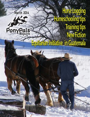 March 2014 Pony Pals Magazine  -- Vol.3 #10