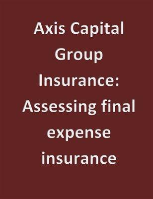 Assessing final expense insurance