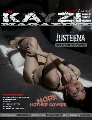 Kayze magazine issue 32 -JUSTEENA Rohrbach - FLIX N' GLAM