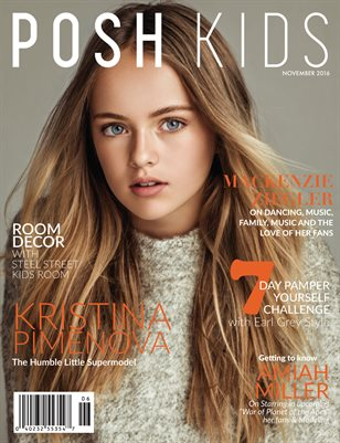 Posh Kids Magazine November 2016 -  Kristina Pimenova