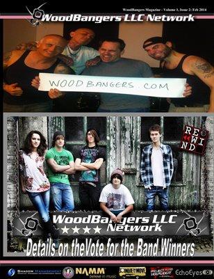 WoodBangers Magazine February 2014