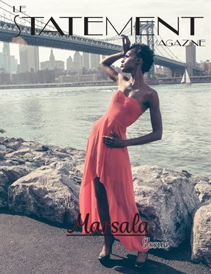 Le Statement Magazine The Marsala issue