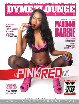 DYMEZLOUNGE MAGAZINE Volume 11 April / May 2015 Cover 1