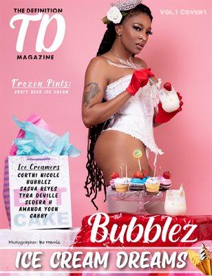The Definition: Bubblez Ice Cream Theme Vol.1 Cover 1