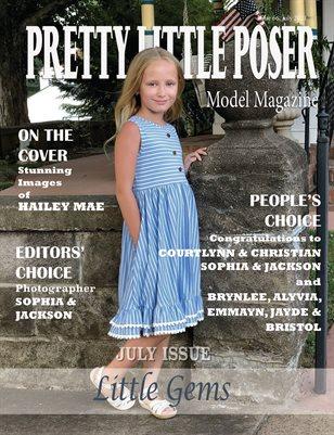 Pretty Little Poser Model Magazine - Issue 66 - Little Gems - July 2021