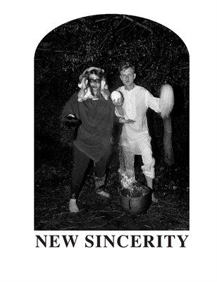 NEW SINCERITY MANIFESTO