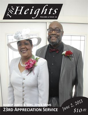Volume 4 Issue 20 - 23th Appreciation Service Bishop James & Mrs. Joyce Mims