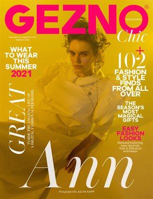 GEZNO Magazine March 2021 Issue #10
