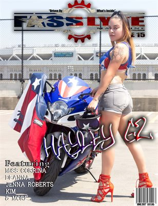 Fass Lyfe Magazine issue 15 featuring Hayley GZ