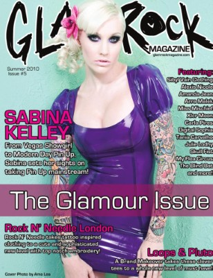 Summer 2010 - The Glamour Issue feat. Sabina Kelley