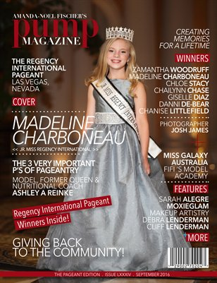 PUMP Magazine Regency International Featuring Madeline Charboneau