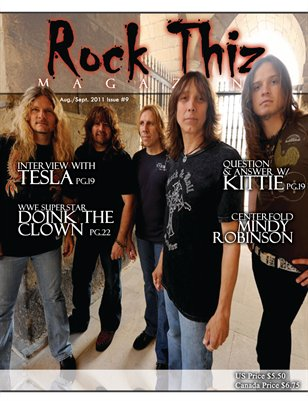 Rock Thiz Magazine Issue #9 Aug/Sept