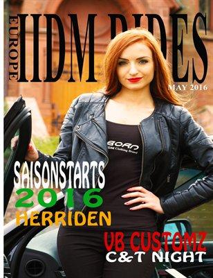 IIDM RIDES Europe Magazine May 2016