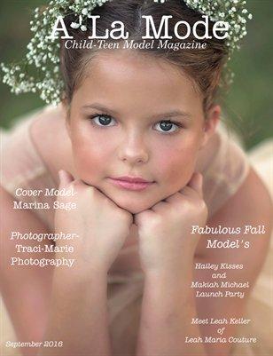 Issue 16 A'La Mode Child-Teen Model Magazine