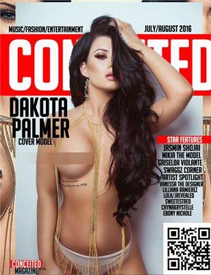 Conceited Magazine Featuring Dakota Palmer