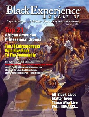 April Black Experience Magazine 2015