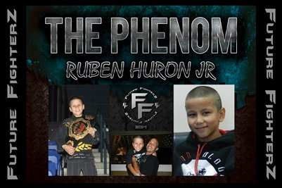 Ruben THE PHENOM Huron Jr Poster