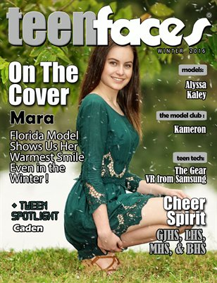TeenFaces Winter 2016