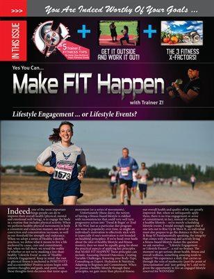Trainer Z - Make Fit Happen - Fitness Newsletter 2018