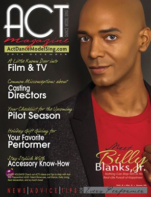 ACT Dance Model Sing Magazine Issue 30