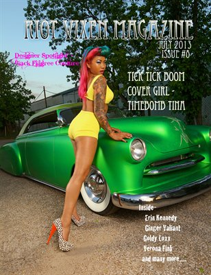 Riot Vixen Magazine Issue #8 July